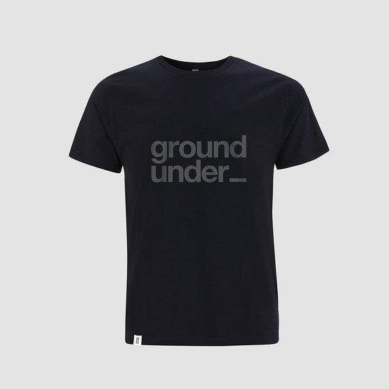 Image of Bedrock Underground t-shirt in Navy