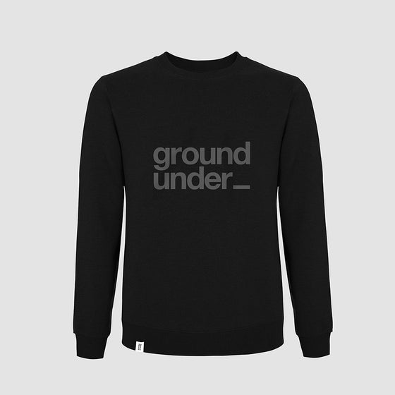 Image of Bedrock Underground Crewneck in Black