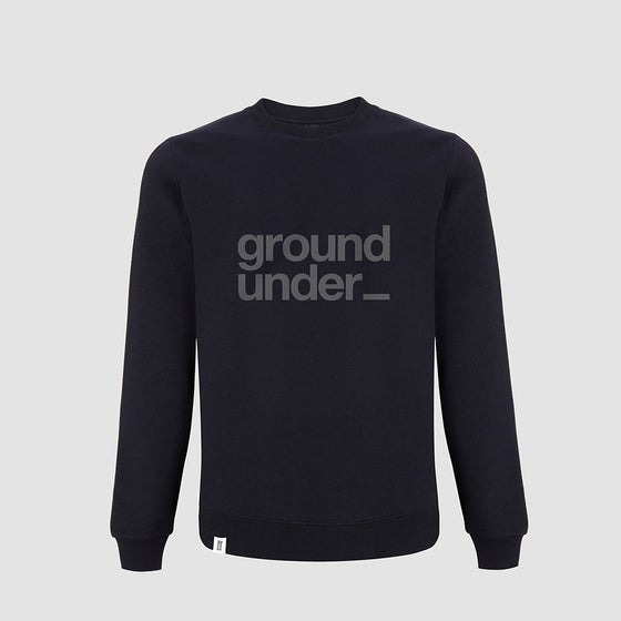 Image of Bedrock Underground Crewneck in Navy