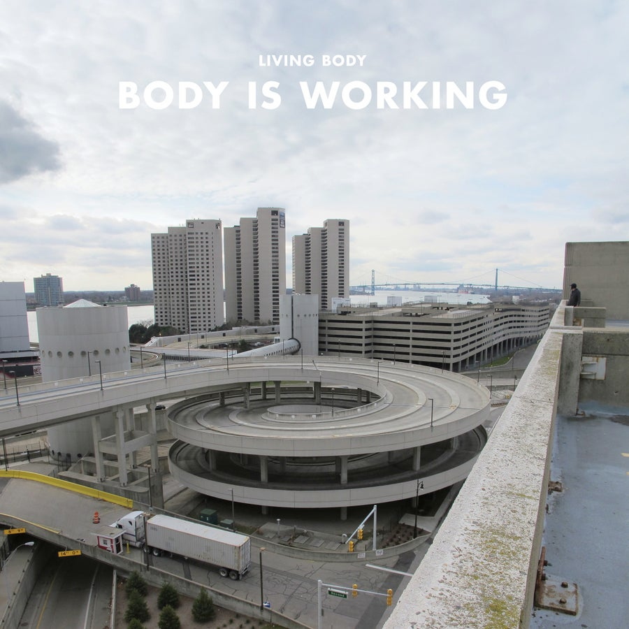 "Image of Living Body - 'Body is Working' - 12"" VINYL + Bundle Deals w/ tote bags"