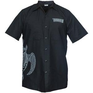Image of Tatau Turtle Work Shirt Black/Grey