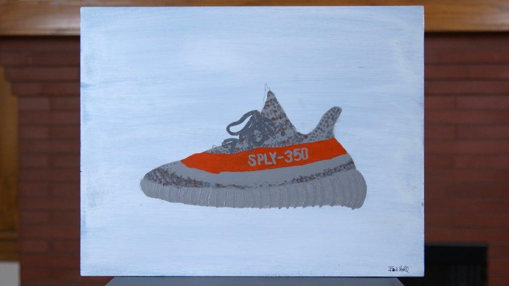 """Image of adidas Yeezy Boost 350 V2 """"Beluga Painting"""""""