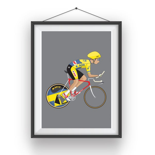 Image of Greg Lemond A3 Giclee Print