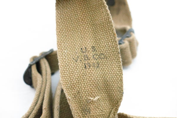 Image of WW2 US M-1936 Suspenders - Dated