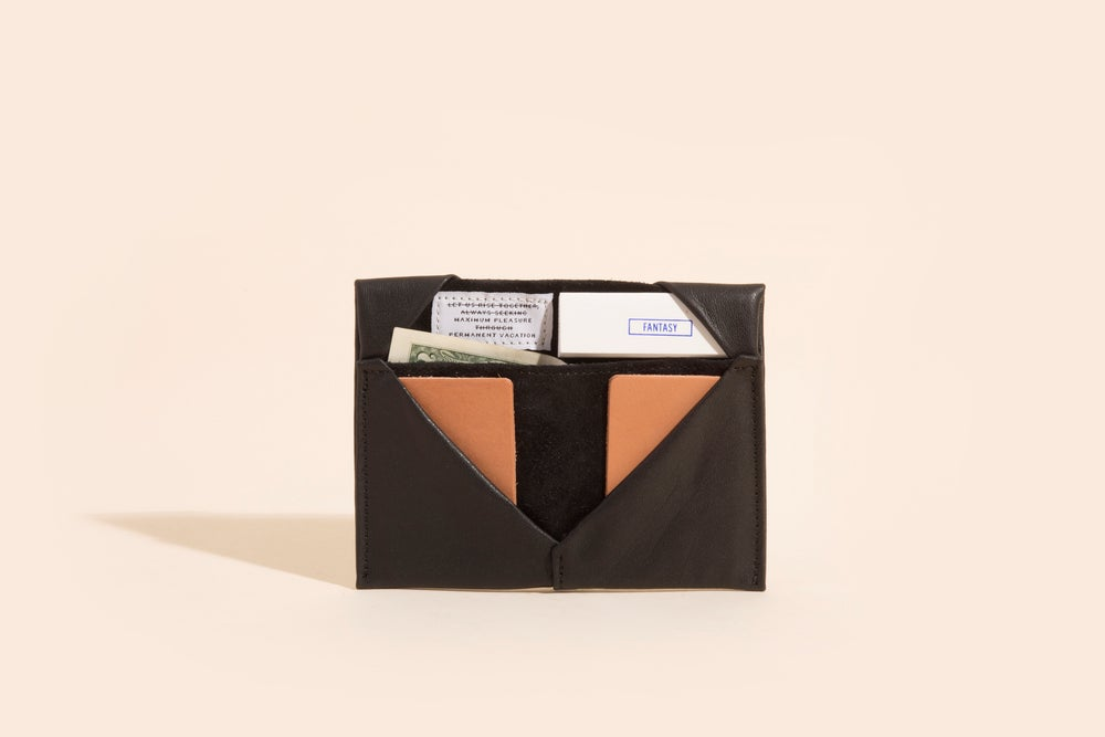 Image of Diamond Billfold - Leather
