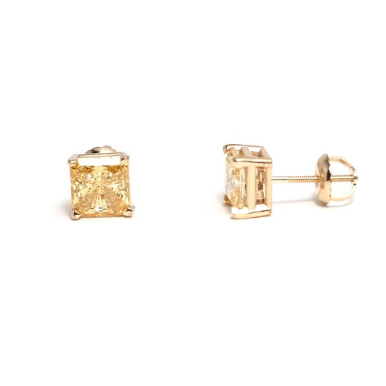 Image of Canary Yellow Studs