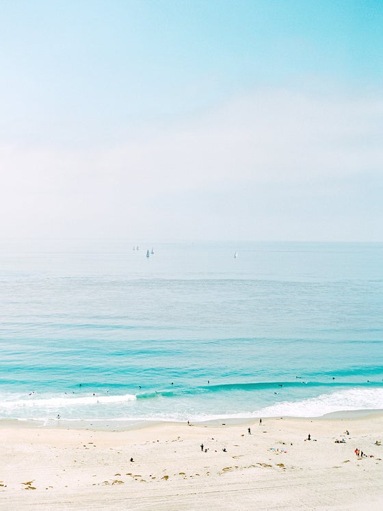 Image of beach view laguna beach
