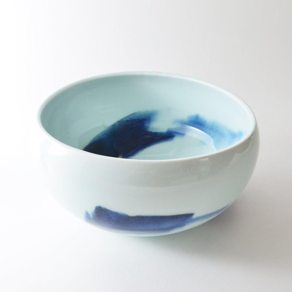 Image of altered porcelain bowl - LARGE
