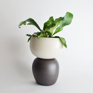 Image of porcelain planter - MADE TO ORDER