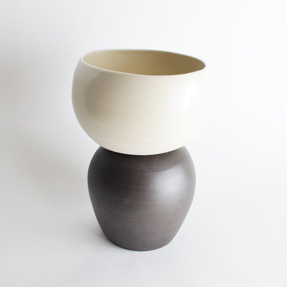 Image of porcelain planter - MADE TO ORDER