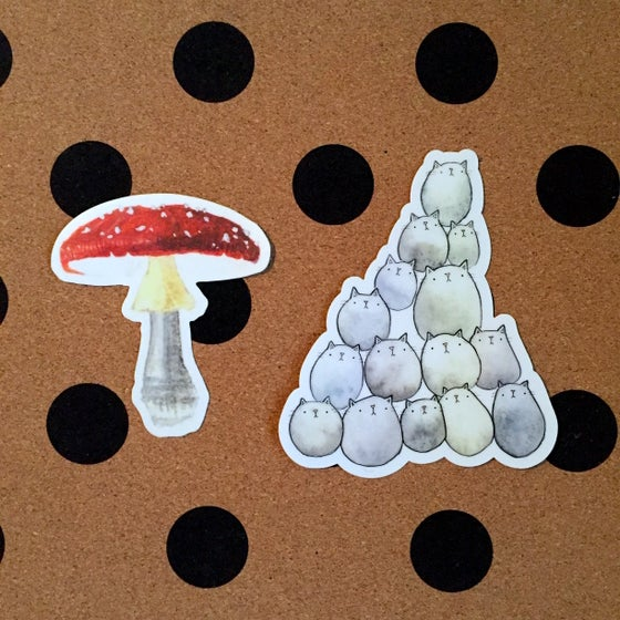 Image of vinyl stickers, series four
