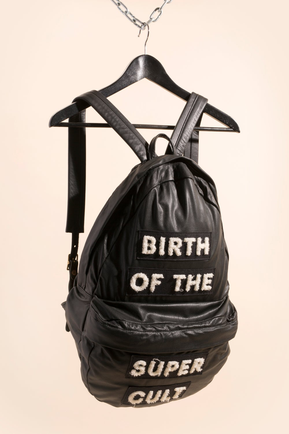 Image of Leather Backpack - Birth of the Super Cult