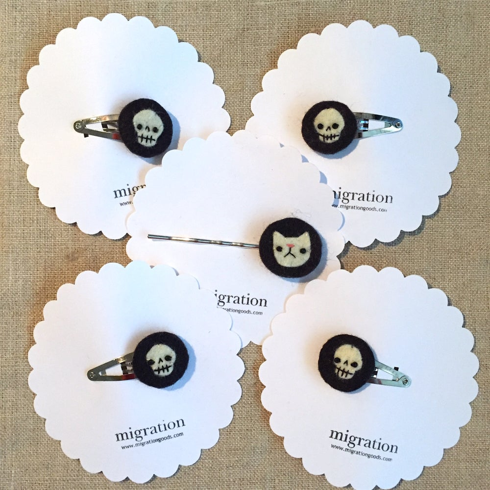Image of skull & cat minis