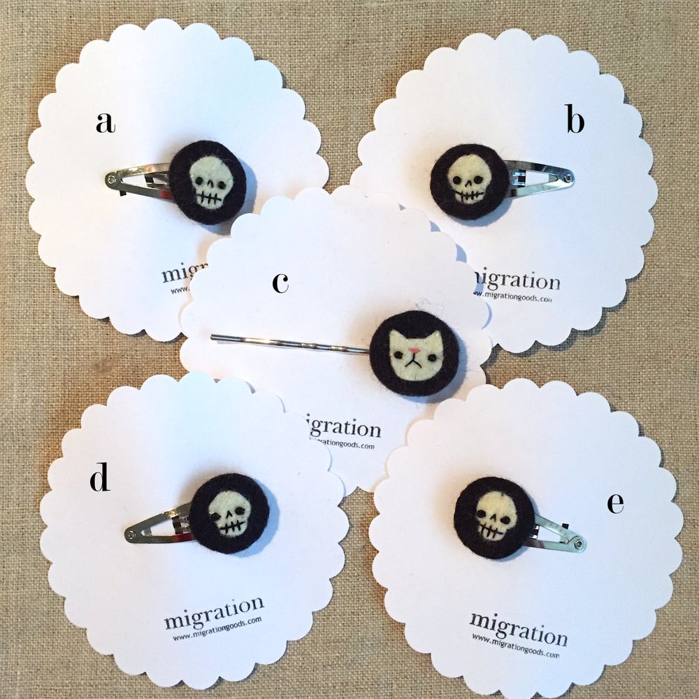 Image of skull & cat minis