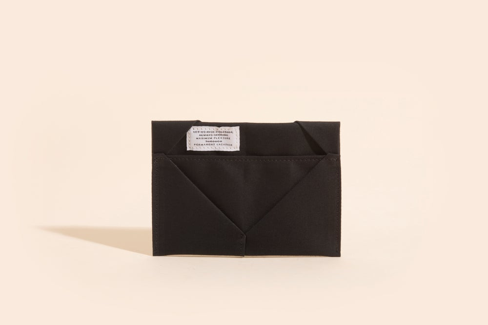 Image of Diamond Billfold - Black
