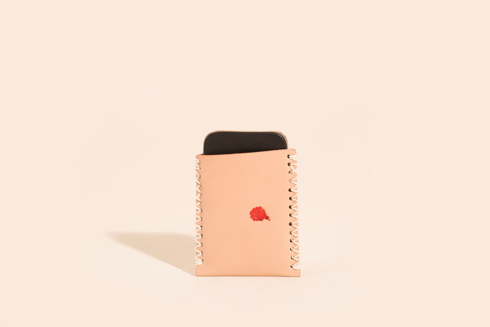 Image of Card Carry No. 01 - Natural - Velvet Roses