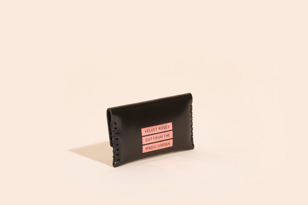 Image of Card Carry No. 03 - Black - Velvet Roses
