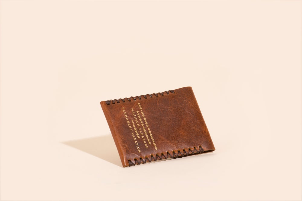 Image of Card Carry No. 02 - Mahogany - Max Pleas Perm Vaca