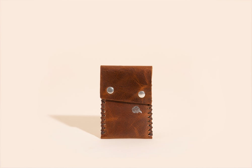 Image of Card Carry No. 02 - Mahogany - Velvet Roses