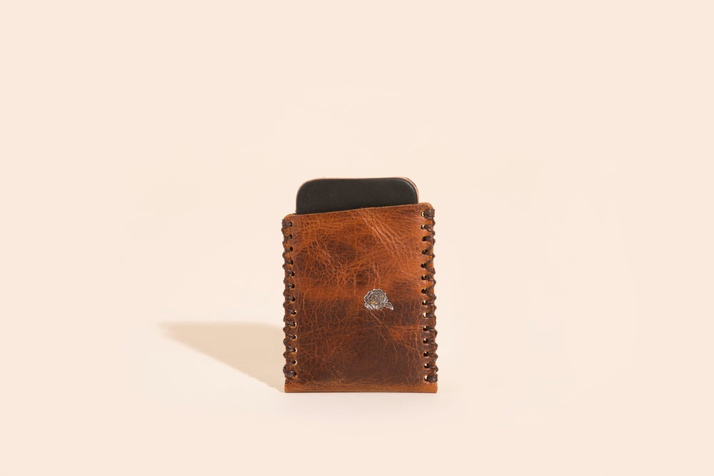 Image of Card Carry No. 01 - Mahogany - Velvet Roses