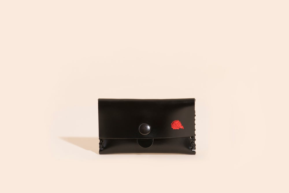 Image of Card Carry No. 03 - Black - Velvet Roses