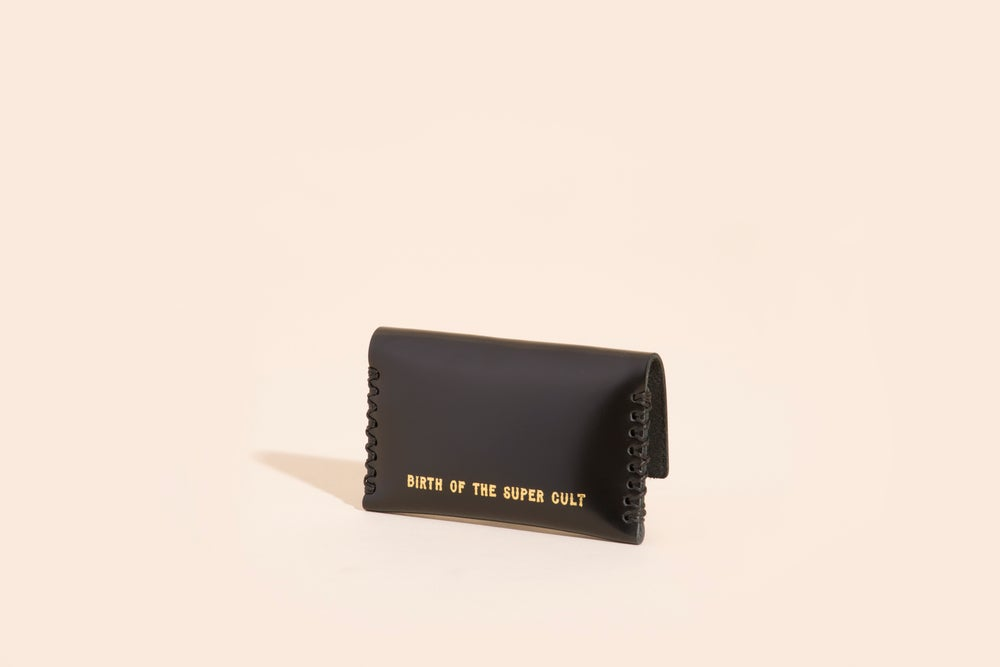 Image of Card Carry No. 03 - Black - Birth of the Super Cult