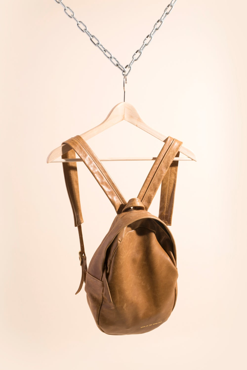 Image of Mini Backpack - Brown Leather