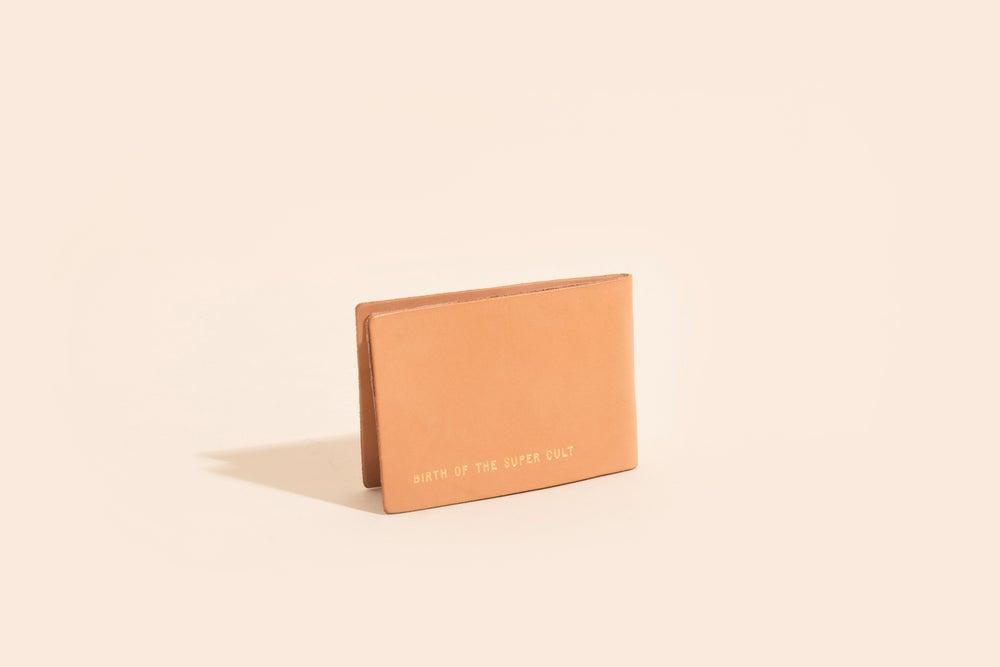 Image of Seamless Billfold - Veggie Tan w/Foil Stamp