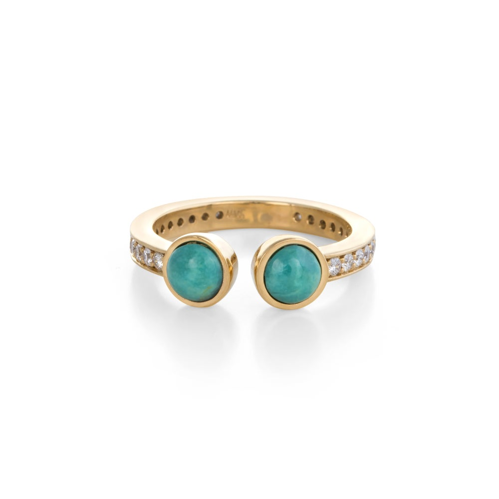 Image of Turquoise Monroe Ring
