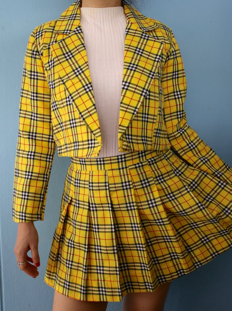 Image of Ready To Post - Cher Blazer & As If Skirt (pleated version)