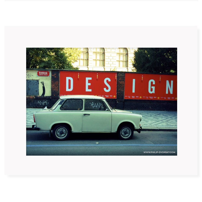 Image of Trabant - Prague Street Photography