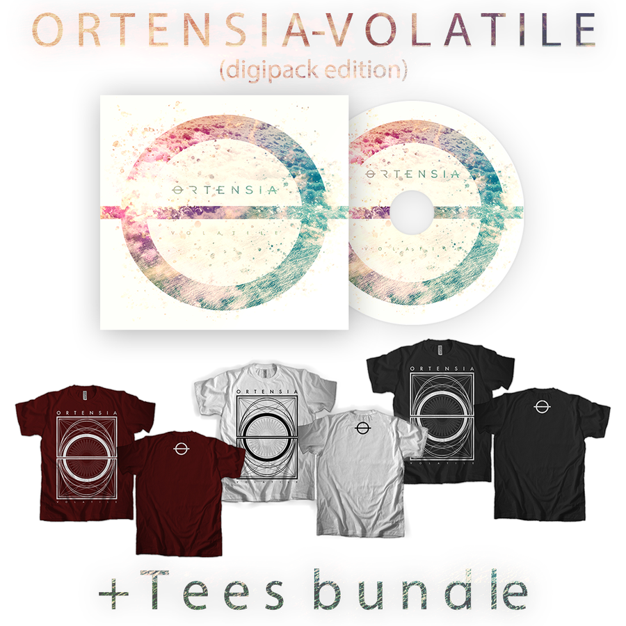 "Image of Bundle ""Volatile"" CD & ""Volatile"" Tee"