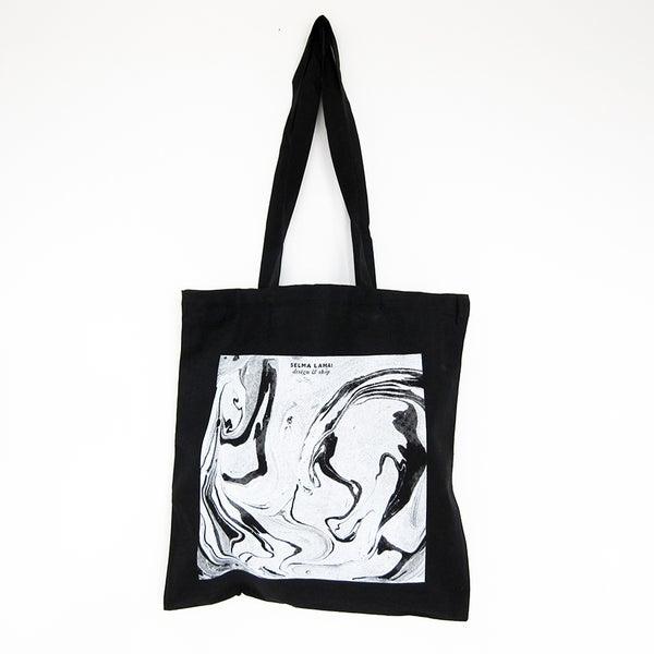 Image of Totebag / Marbling