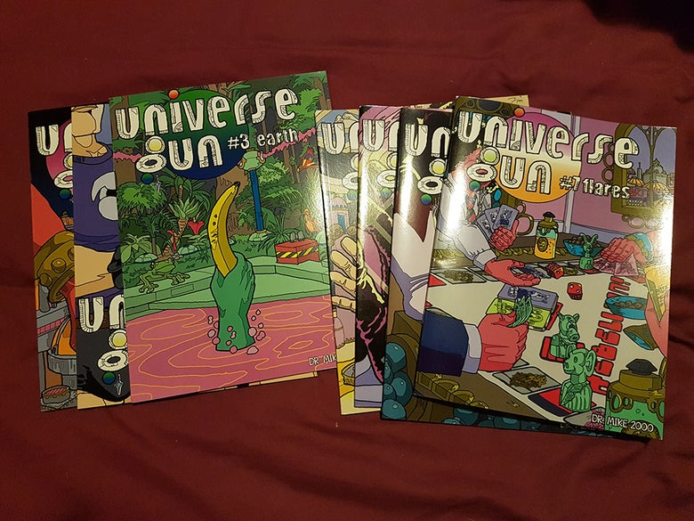 Image of Universe Gun single issue