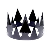 Image of Patent Leather stud crown
