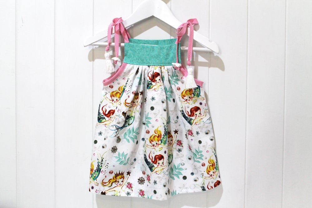 Image of Vintage Mermaid Pinafore