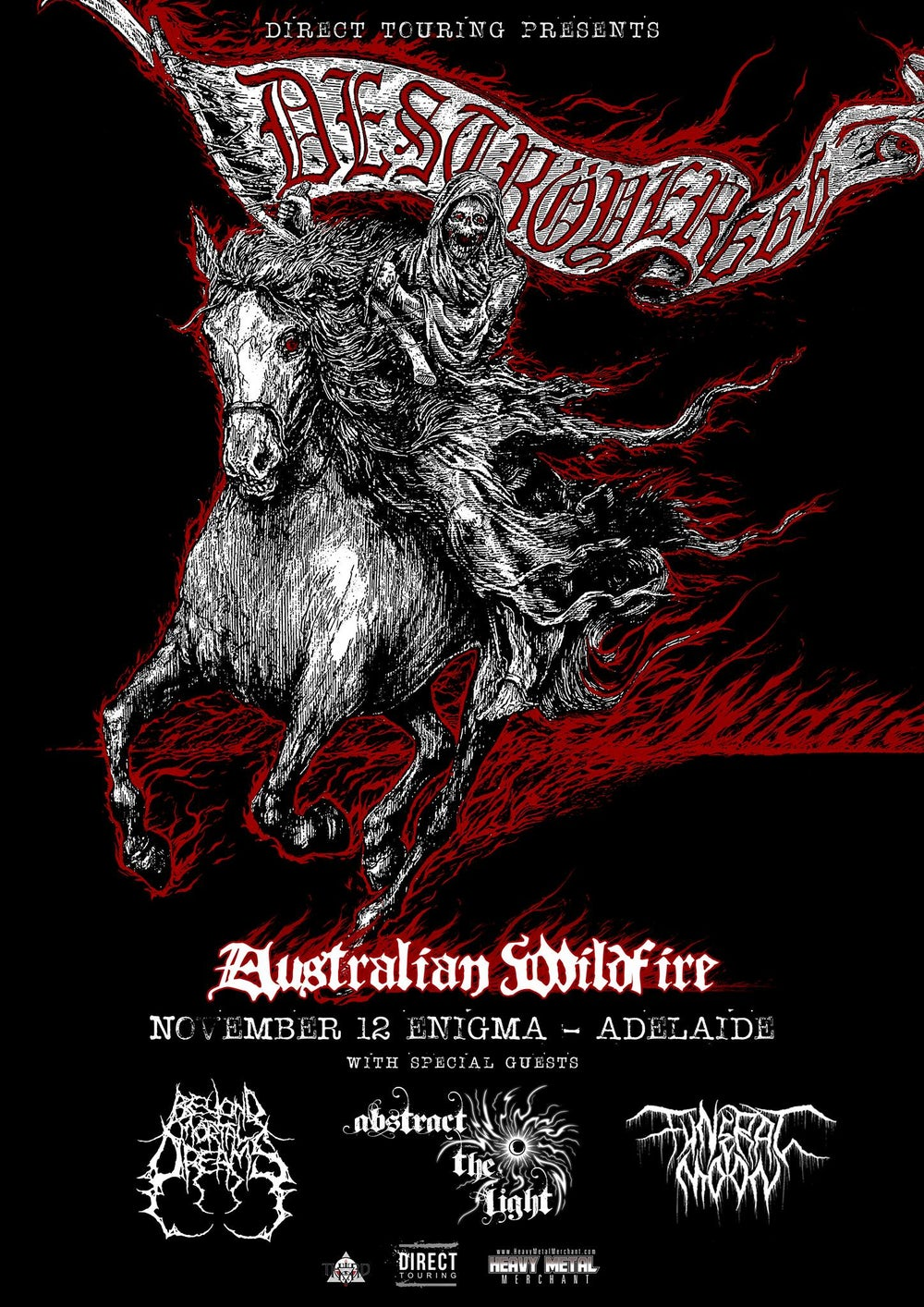 Image of Destroyer 666 - Adelaide Ticket