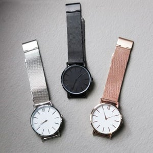 Image of The Mesh Watch – Steel