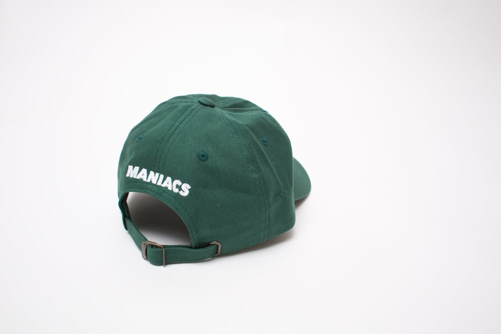 """Image of Forest Green Logo """"Dad"""" Hat"""