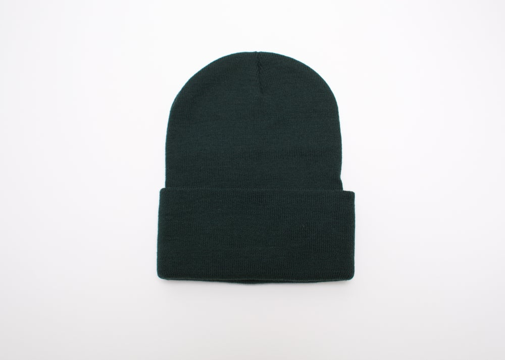 Image of Forest Green Logo Beanie