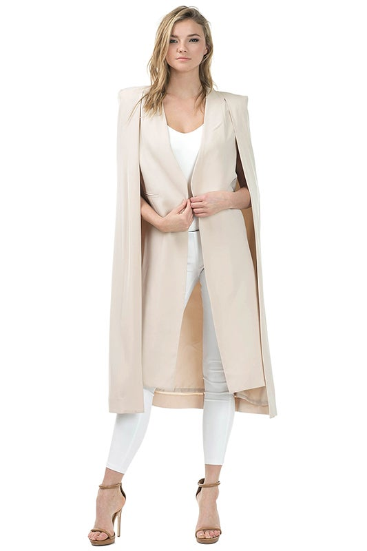 Image of Cape Trench Coat