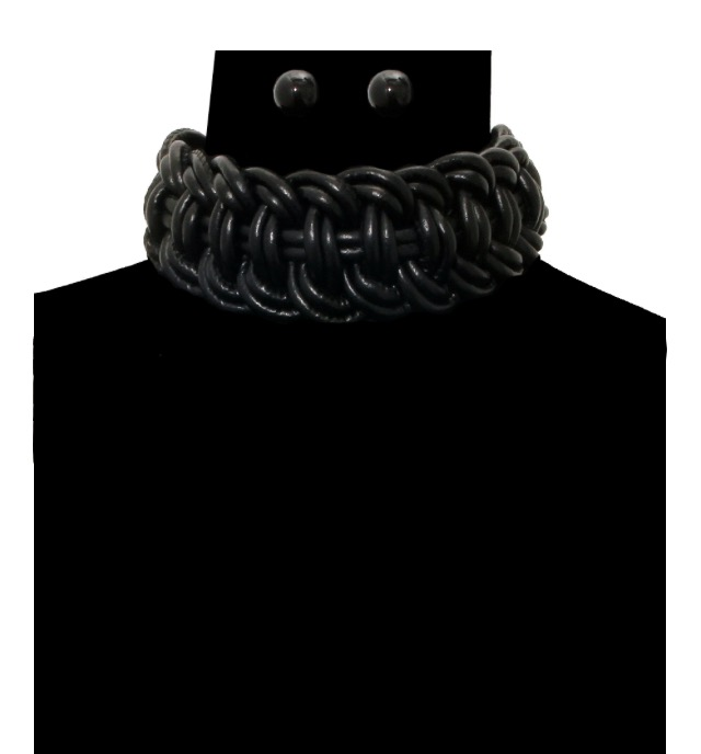 Image of Leather Cord Choker