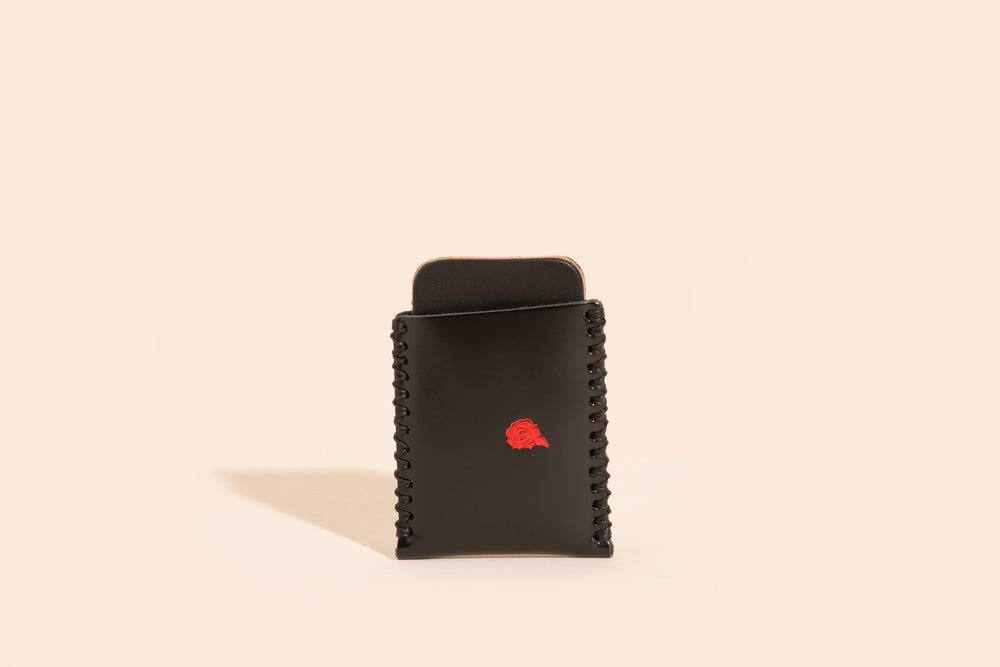 Image of Card Carry No. 01 - Black - Velvet Roses