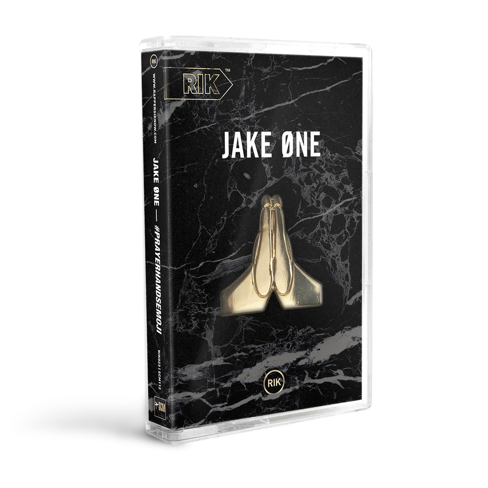 Image of Jake One — #PrayerHandsEmoji Cassette
