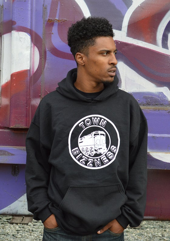 Image of Black Town Bizzness Hoodie