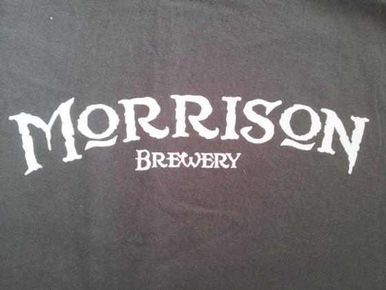 Image of Morrison Brewery Tee size MEDIUM