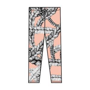 Image of Leggings, Braid (coral), Vimma