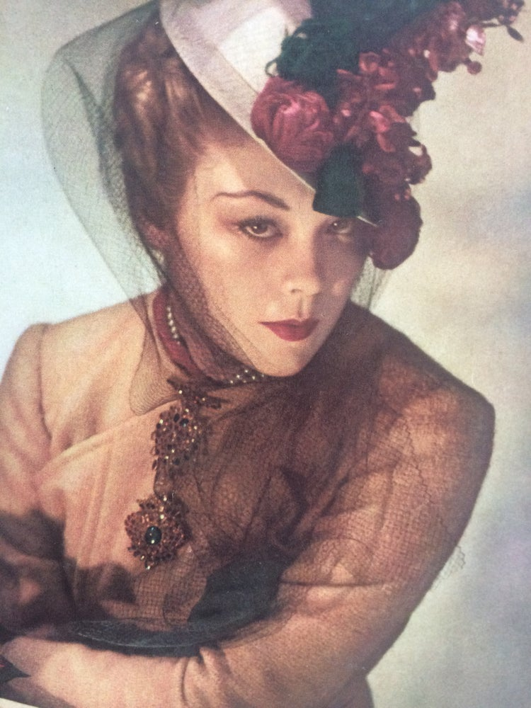 Image of Vogue Cover 15 January 1938