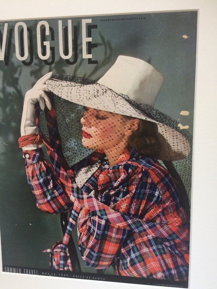 Image of Vogue Cover 15 May 1939
