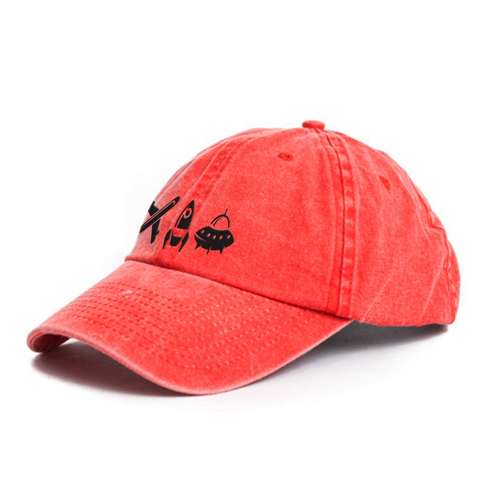 Image of Keep Lifting Red Dad Hat